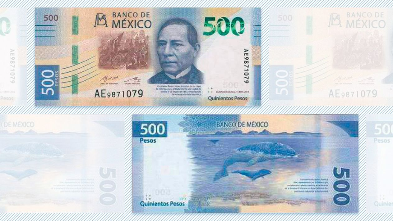 Billete de 500 pesos